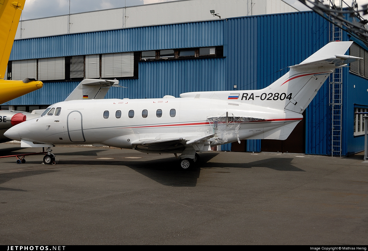 RA-02804 - Hawker Siddeley HS-125-700B - Private