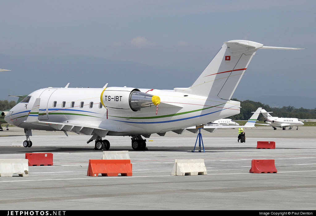 TS-IBT - Bombardier CL-600-2B16 Challenger 604 - Karthago Airlines