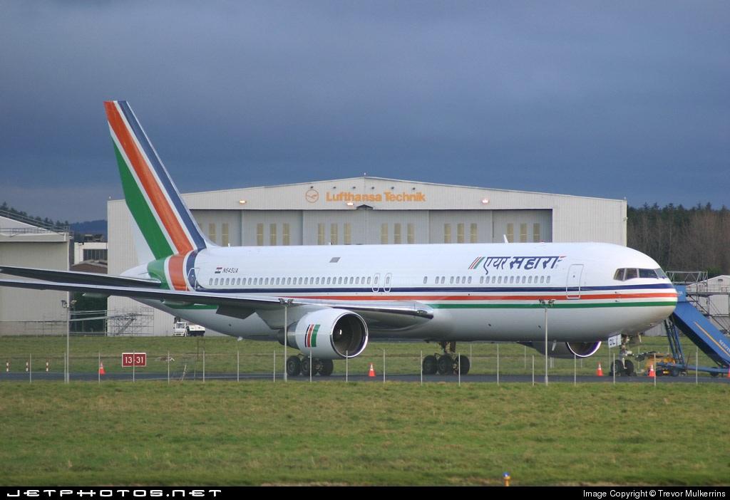 N645UA - Boeing 767-322(ER) - Air Sahara