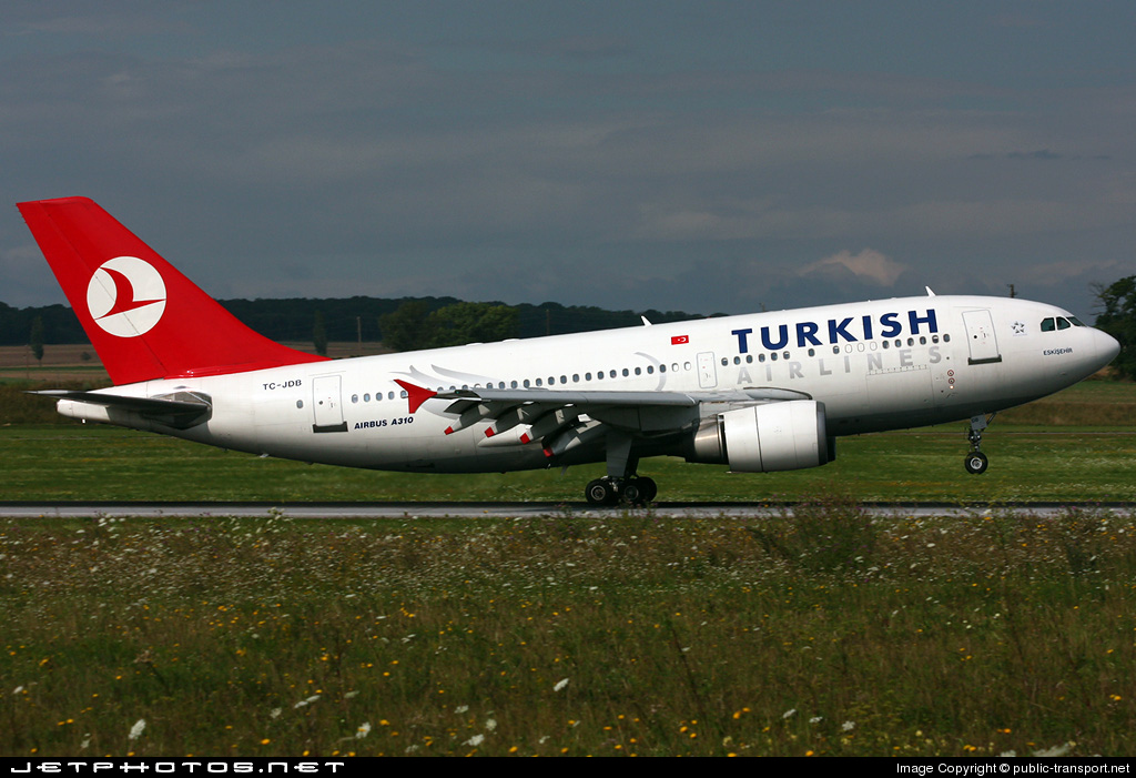 TC-JDB - Airbus A310-304 - Turkish Airlines