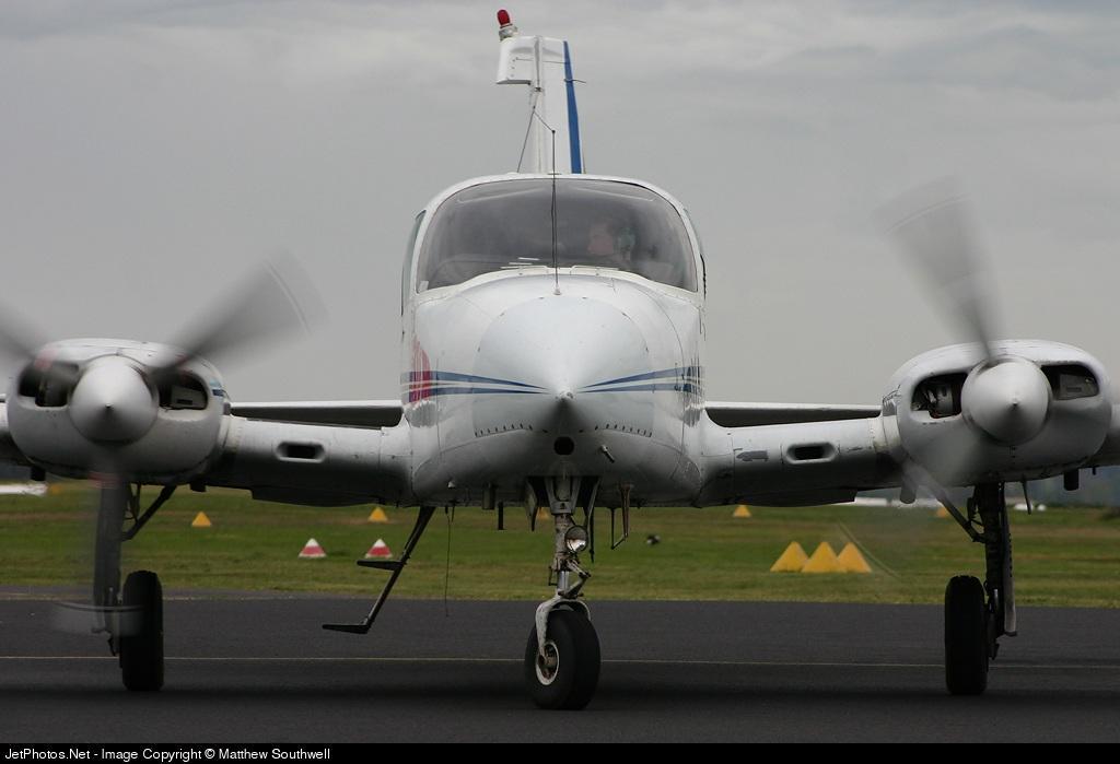 VH-FIN - Cessna 310R - Crane Air