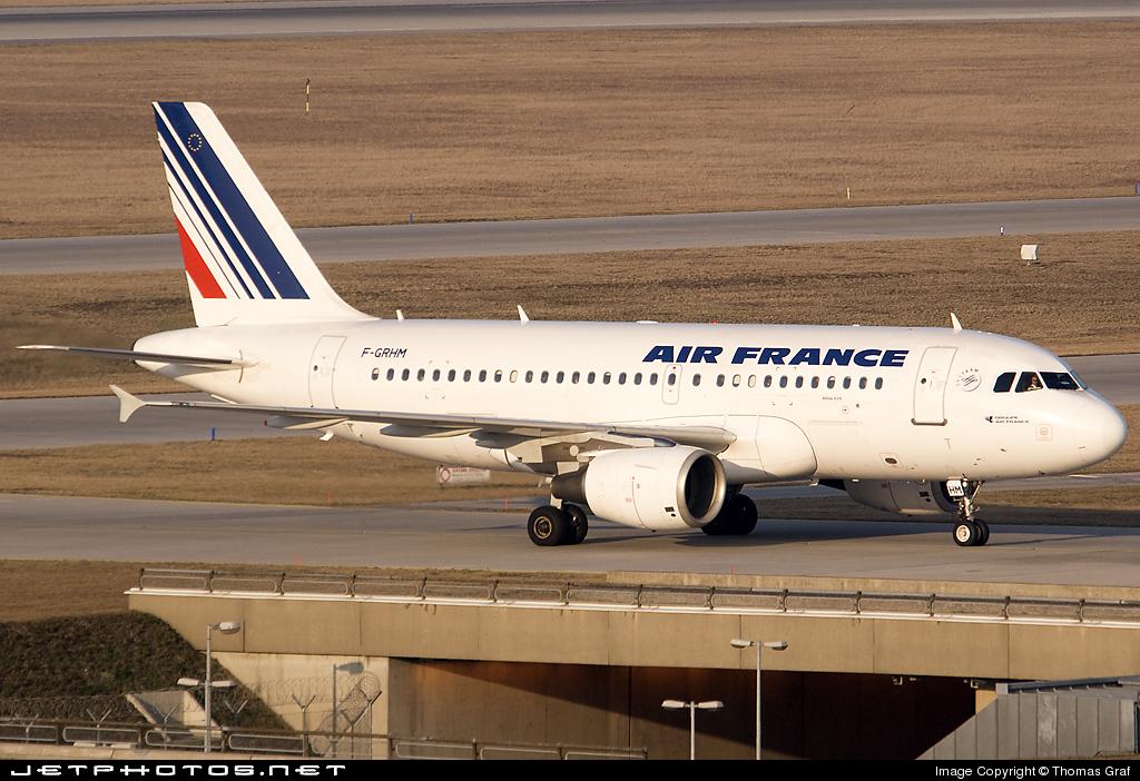 F-GRHM - Airbus A319-111 - Air France