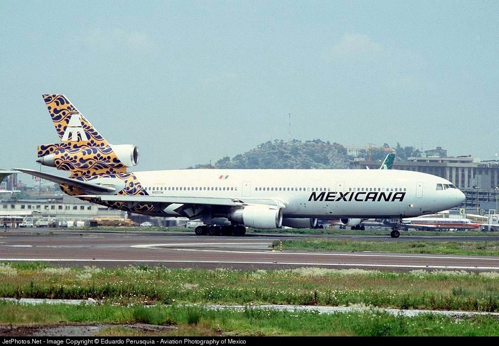 N1003W - McDonnell Douglas DC-10-15 - Mexicana