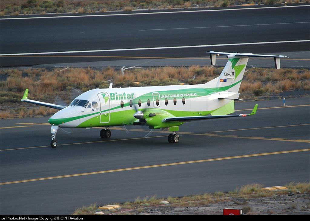EC-JBT - Beech 1900D - Binter Canarias (Naysa)