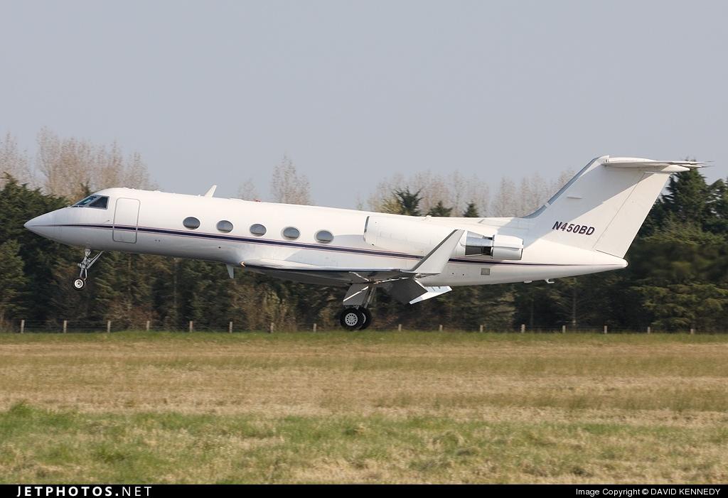 N450BD - Gulfstream G-III - Private