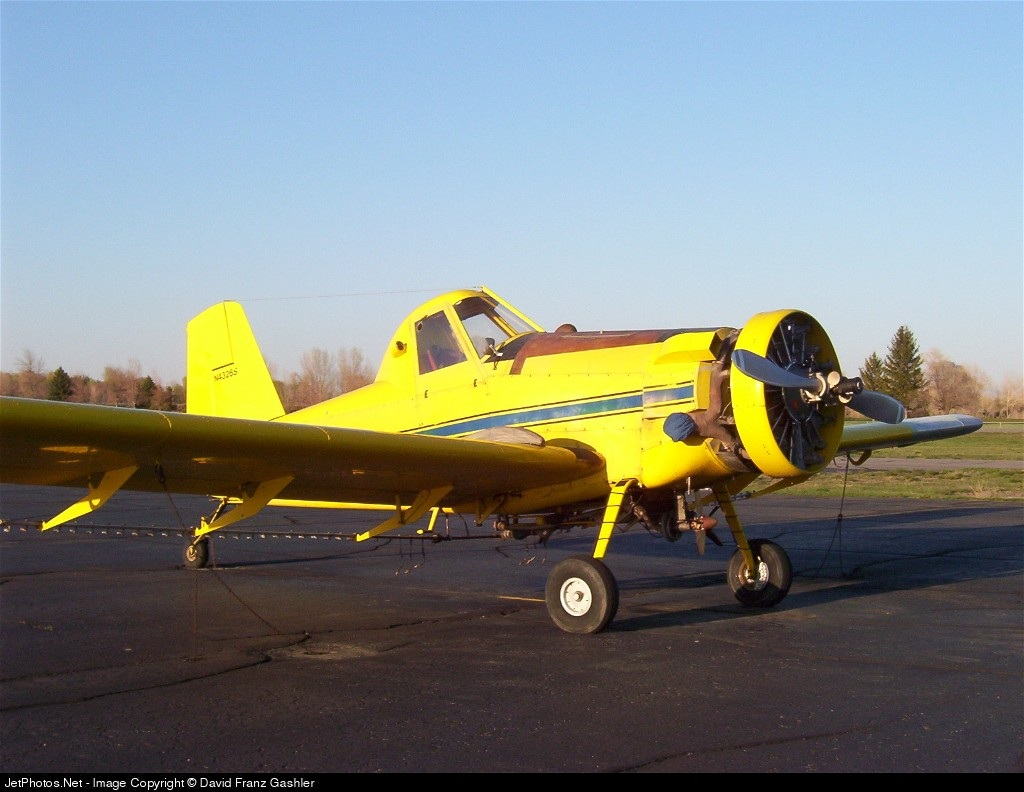 N4326S - AIR TRACTOR INC AT-301 - Lewis Flying Service