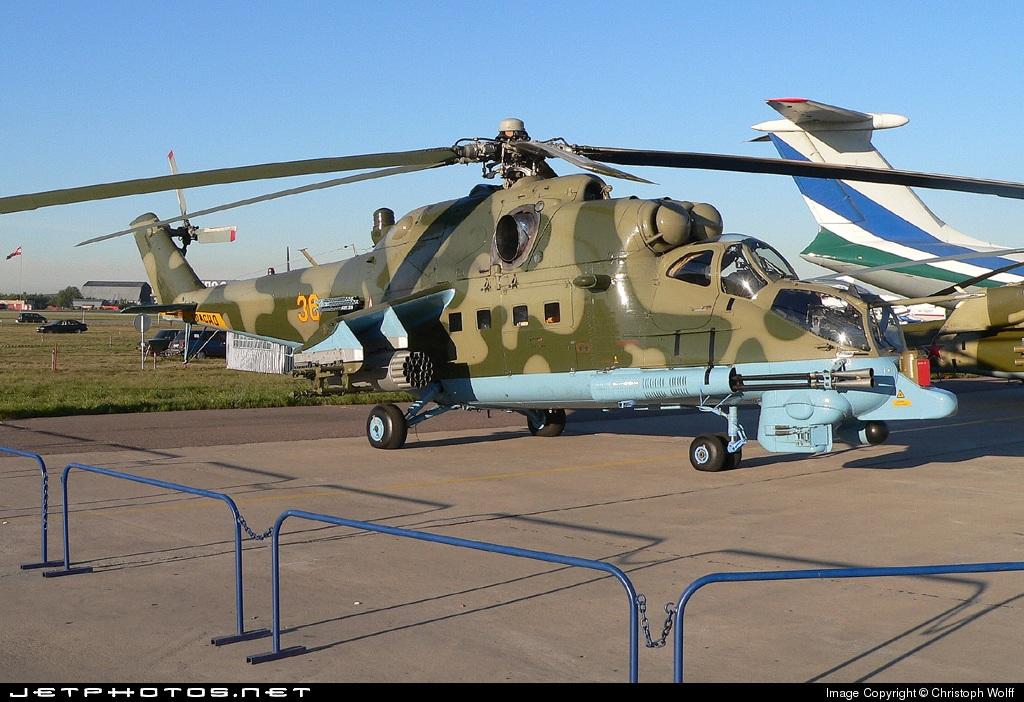 36 - Mil Mi-24PN Hind F - Russia - Army
