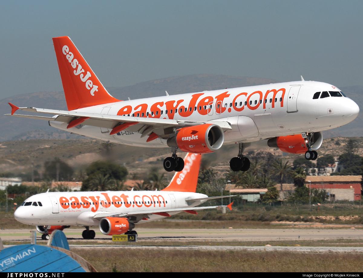 G-EZDZ - Airbus A319-111 - easyJet