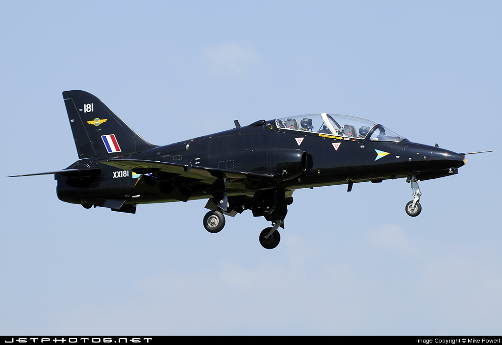 XX181 - British Aerospace Hawk T.1 - United Kingdom - Royal Air Force (RAF)
