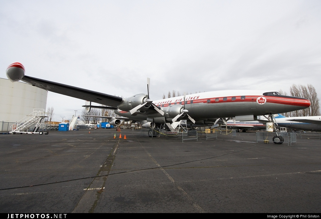 CF-TGE - Lockheed L-1049 Super Constellation - Trans Canada Airlines (TCA)