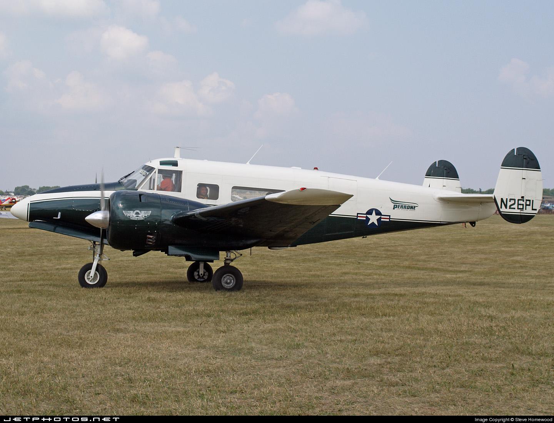 N26PL | Beech H18 | Private | Steve Homewood | JetPhotos