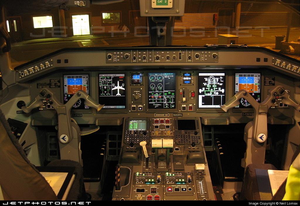 G-FBEM - Embraer 190-200LR - Flybe