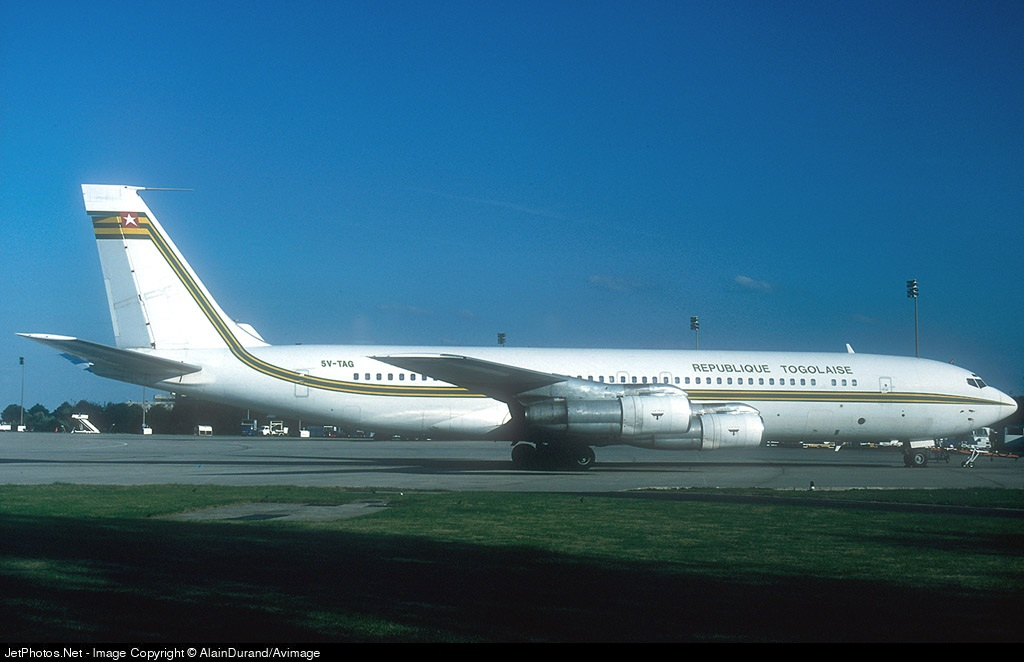 5V-TAG - Boeing 707-312B - Togo - Government