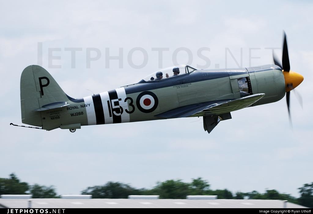 NX15S - Hawker Sea Fury FB.11 - Private