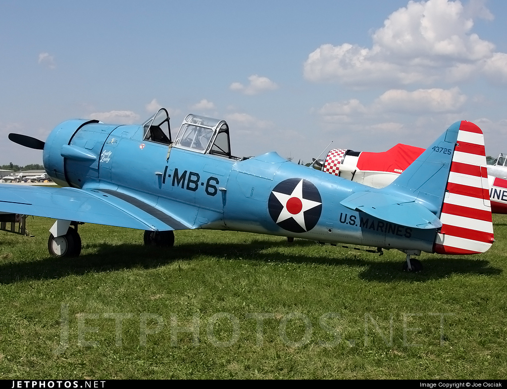 N1666T - North American SNJ-5 Texan - Private