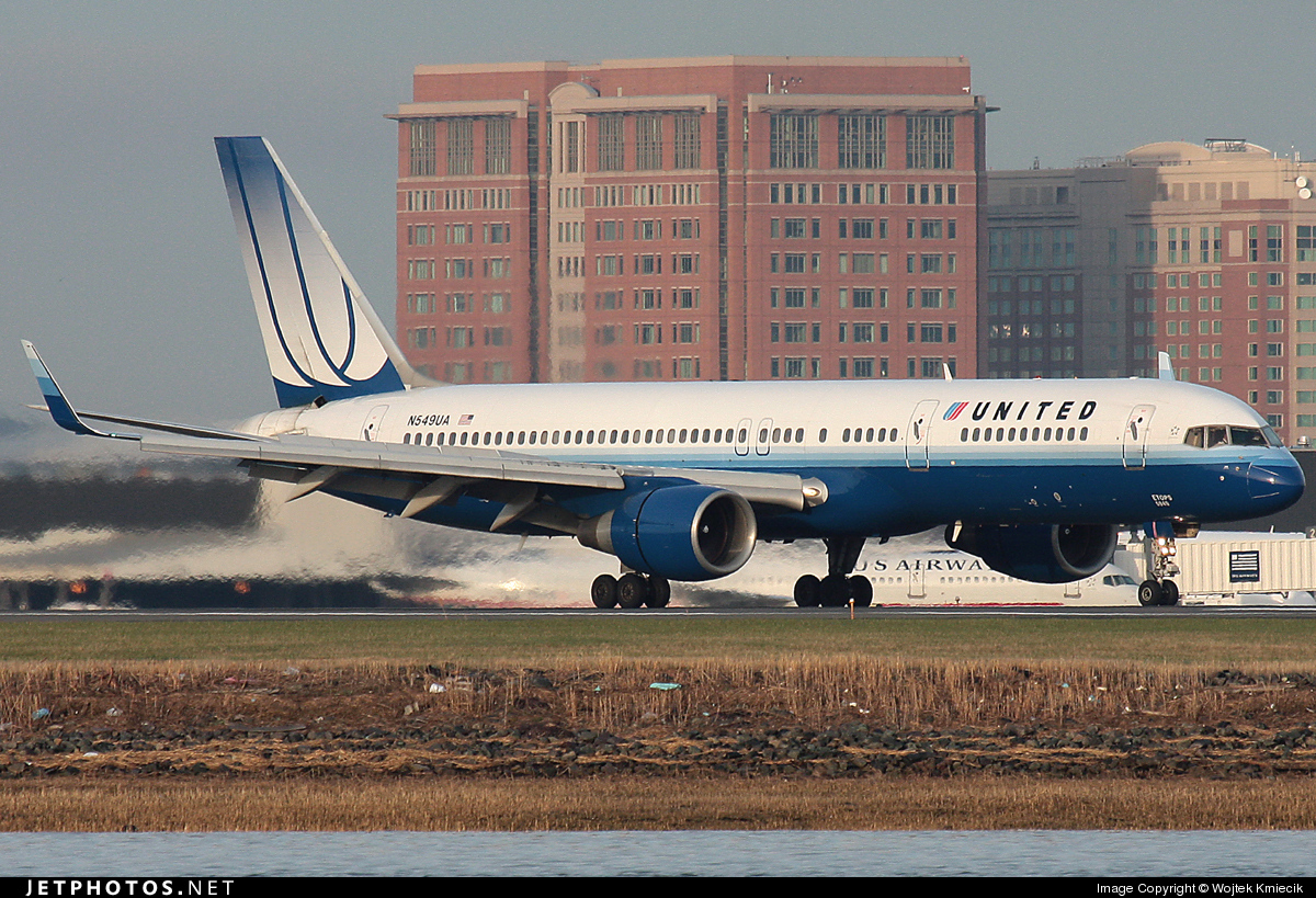 N549UA - Boeing 757-222 - United Airlines