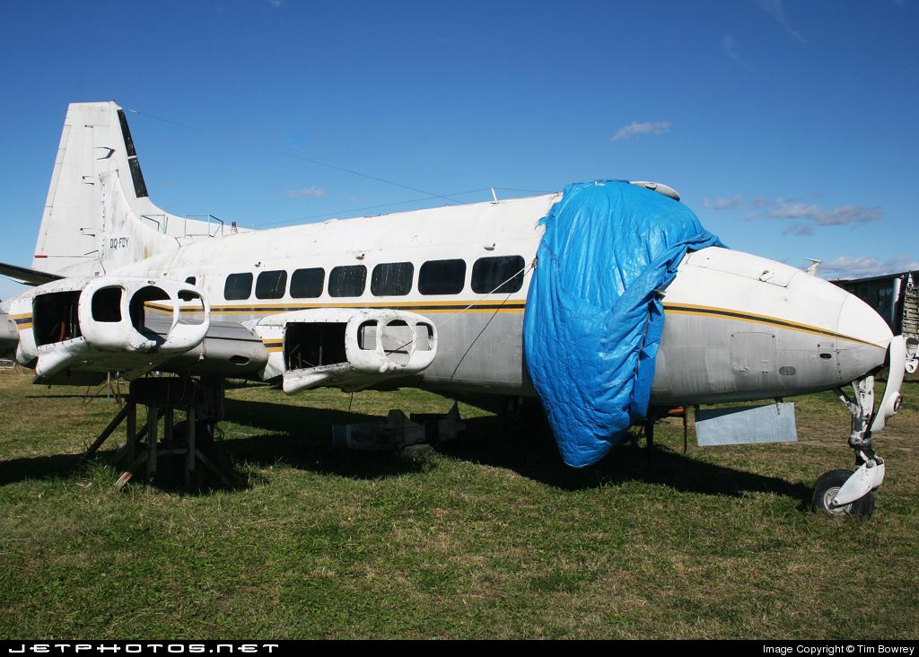 DQ-FDY - De Havilland DHC-114 Heron - Sunflower Airlines