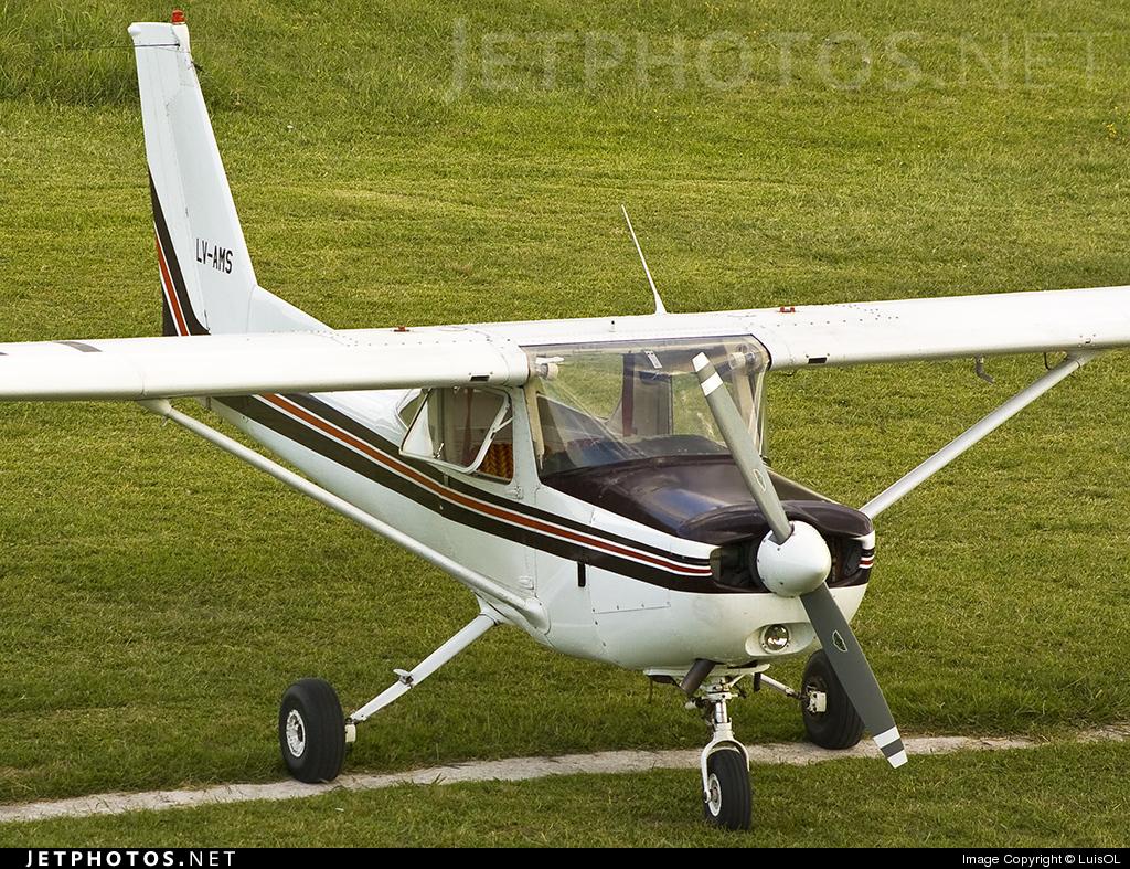 LV-AMS - Cessna 152 - Private