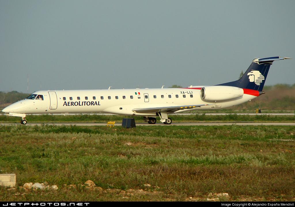 XA-LLI - Embraer ERJ-145ER - Aerolitoral