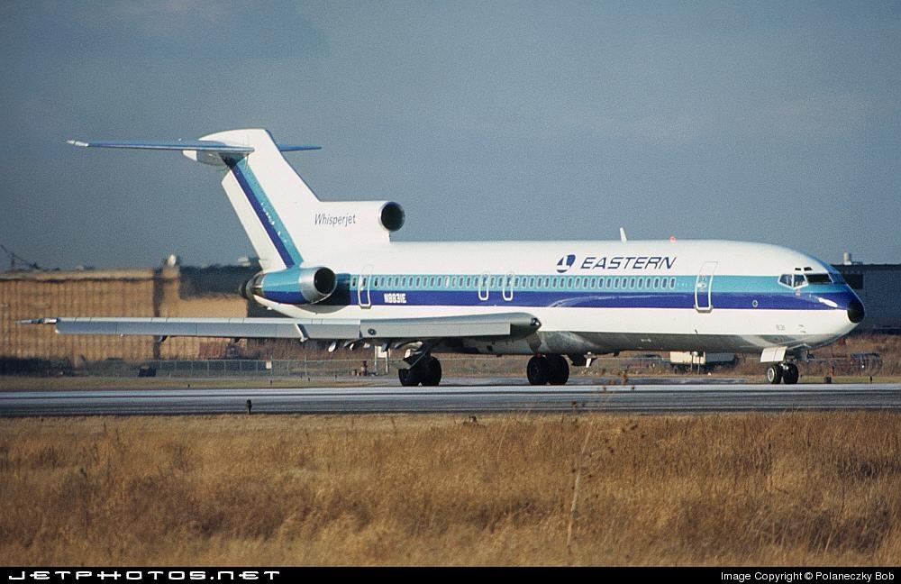 N8831E - Boeing 727-225 - Eastern Air Lines