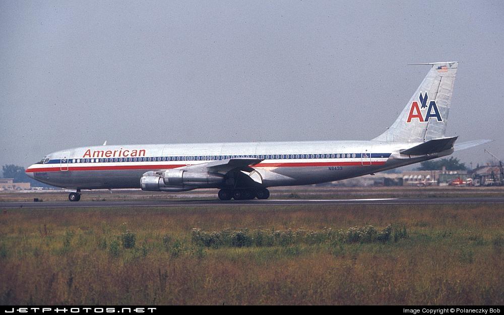 N8433 - Boeing 707-323B - American Airlines