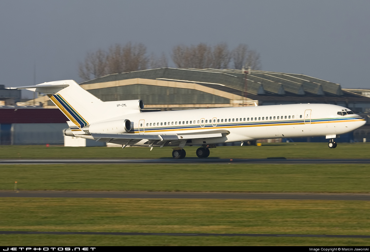 VP-CML - Boeing 727-2Y4(Adv) - Afghanistan - Government