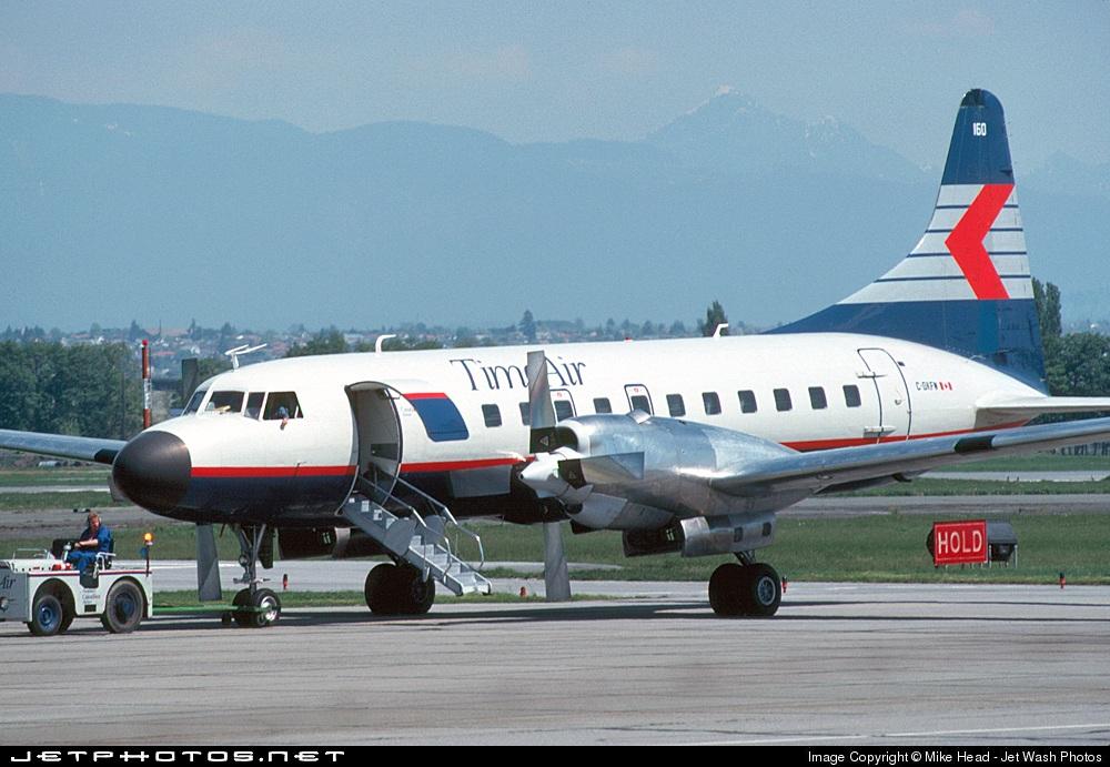 C-GKFW - Convair CV-580 - Time Air