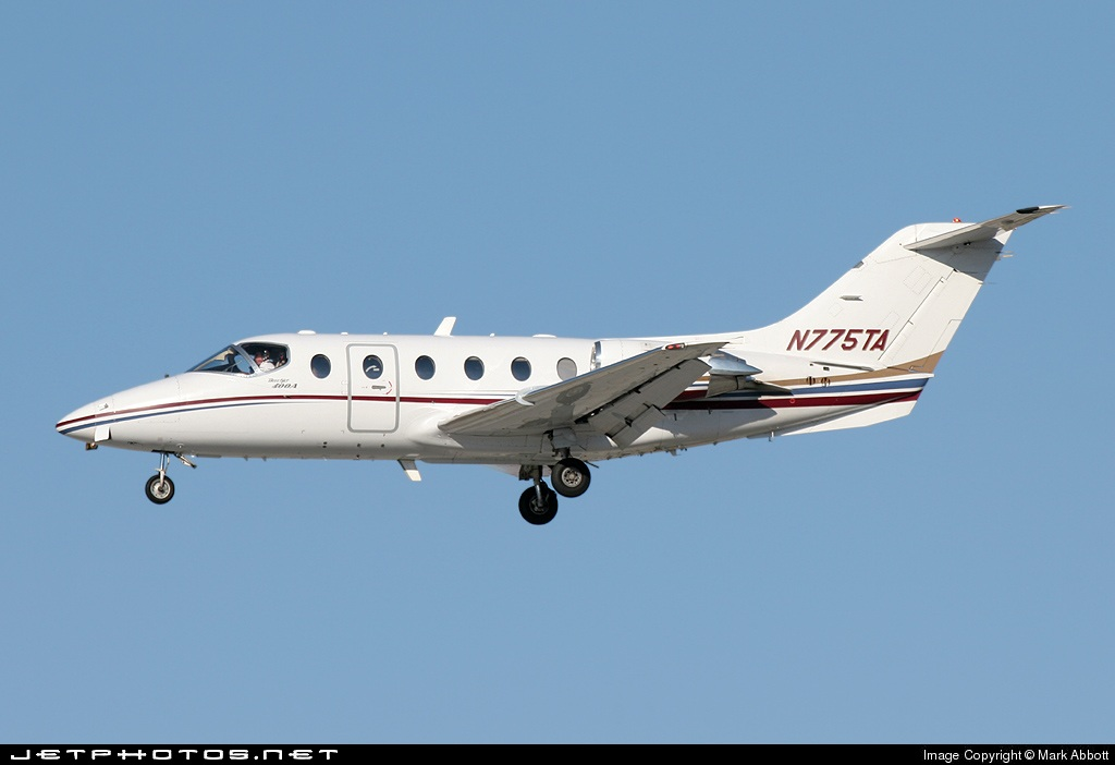 N775TA - Beechcraft 400A Beechjet - Flight Options