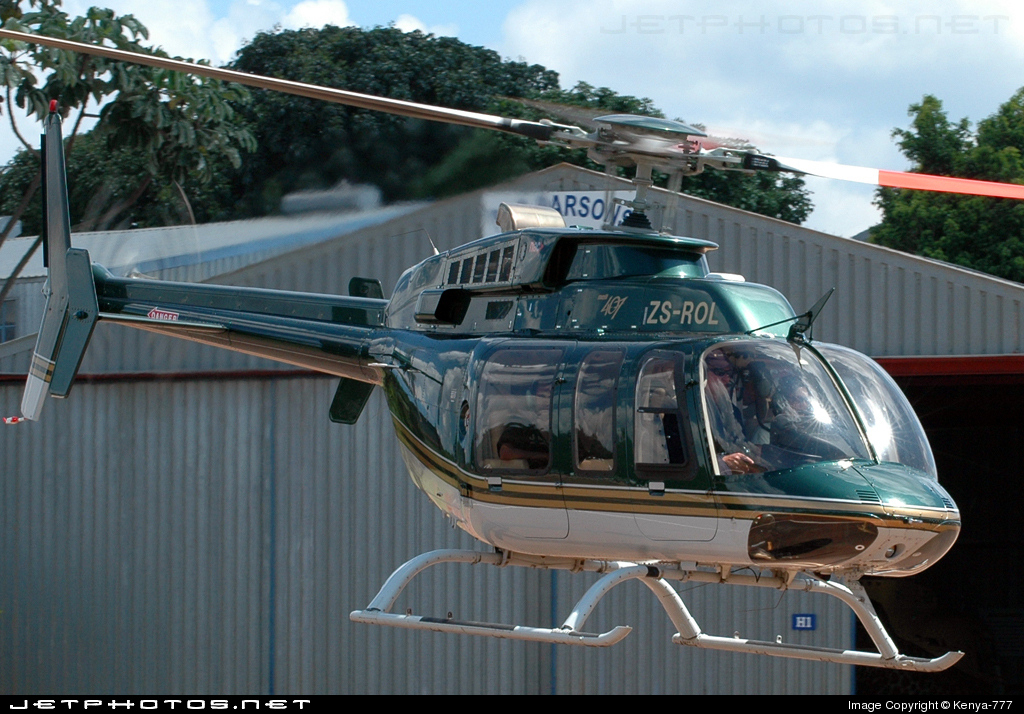 ZS-ROL - Bell 407 - Private