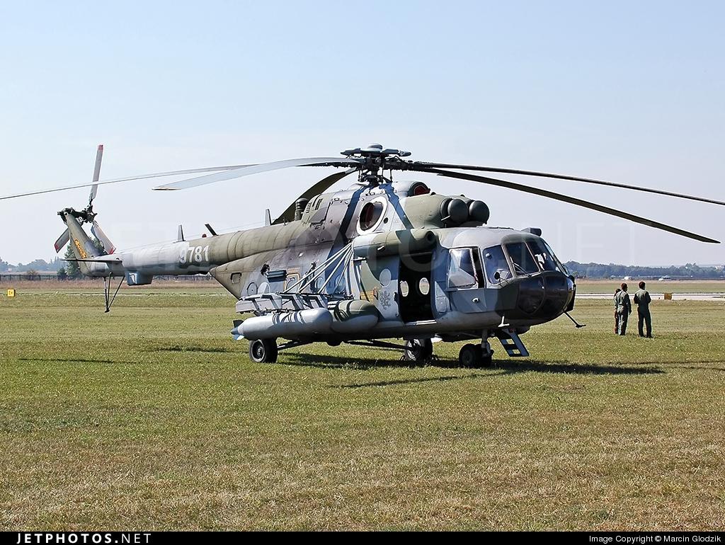 9781 - Mil Mi-171Sh Baikal - Czech Republic - Air Force