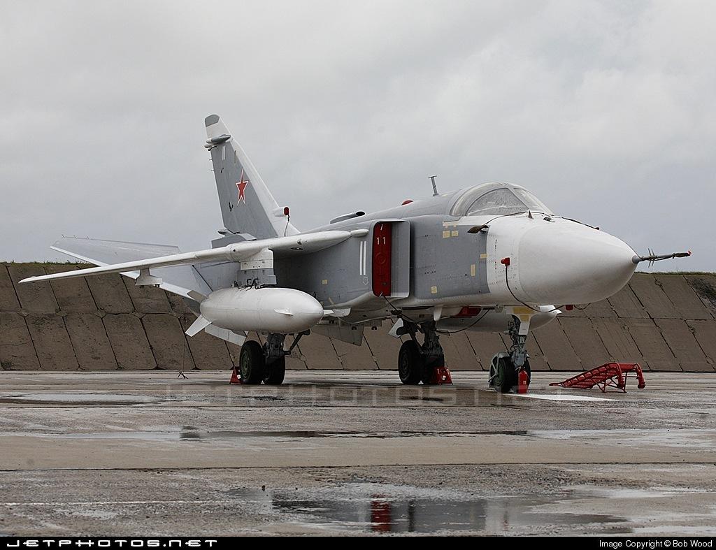 11 - Sukhoi Su-24M2 Fencer - Russia - Air Force
