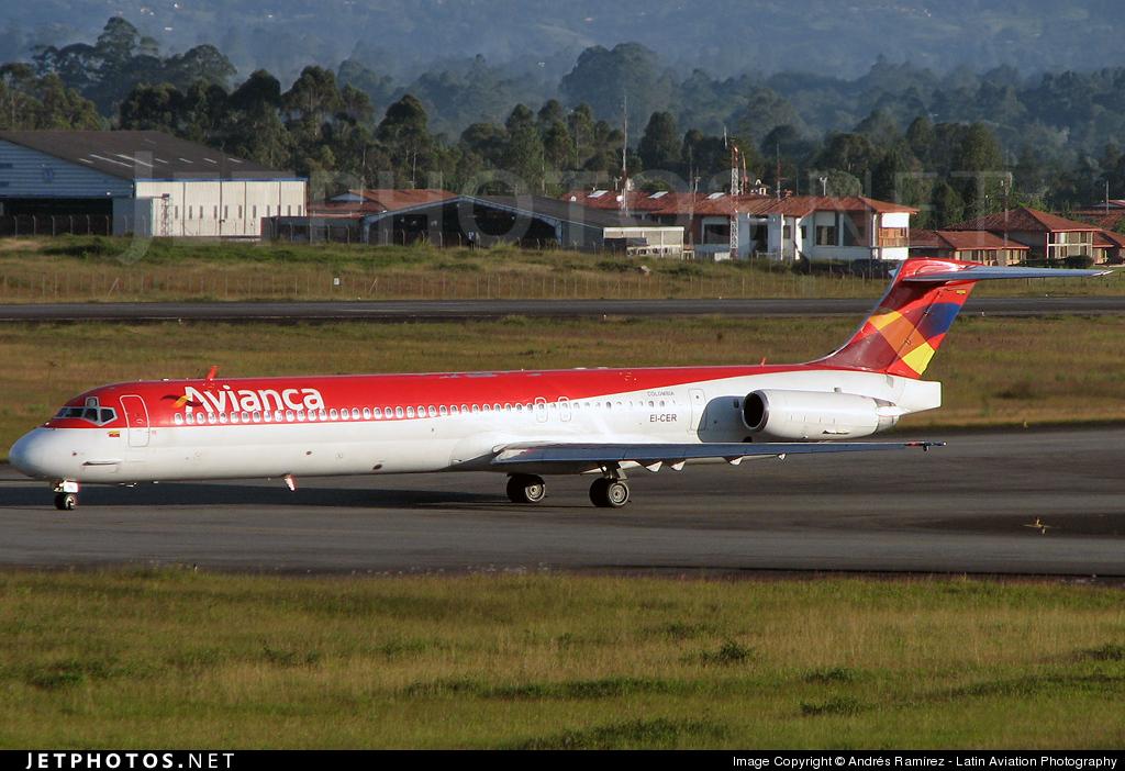 EI-CER - McDonnell Douglas MD-83 - Avianca