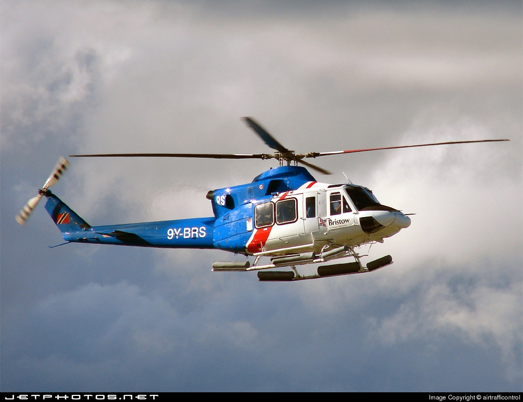 9Y-BRS - Bell 412 - Bristow Helicopters