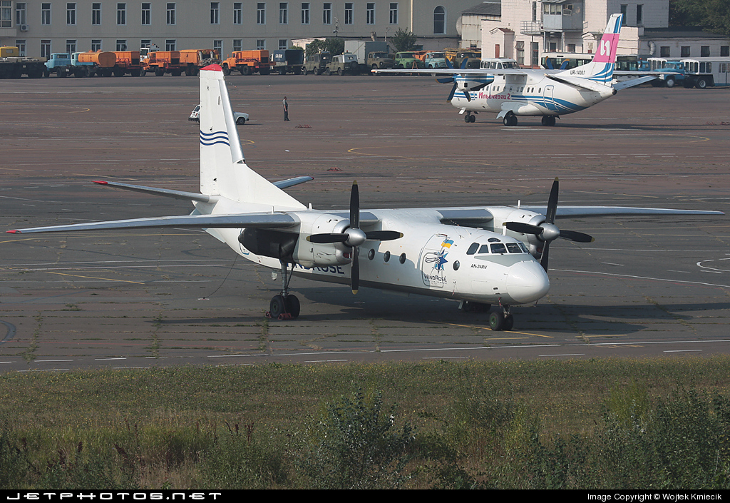 UR-WRA - Antonov An-24RV - Wind Rose Aviation
