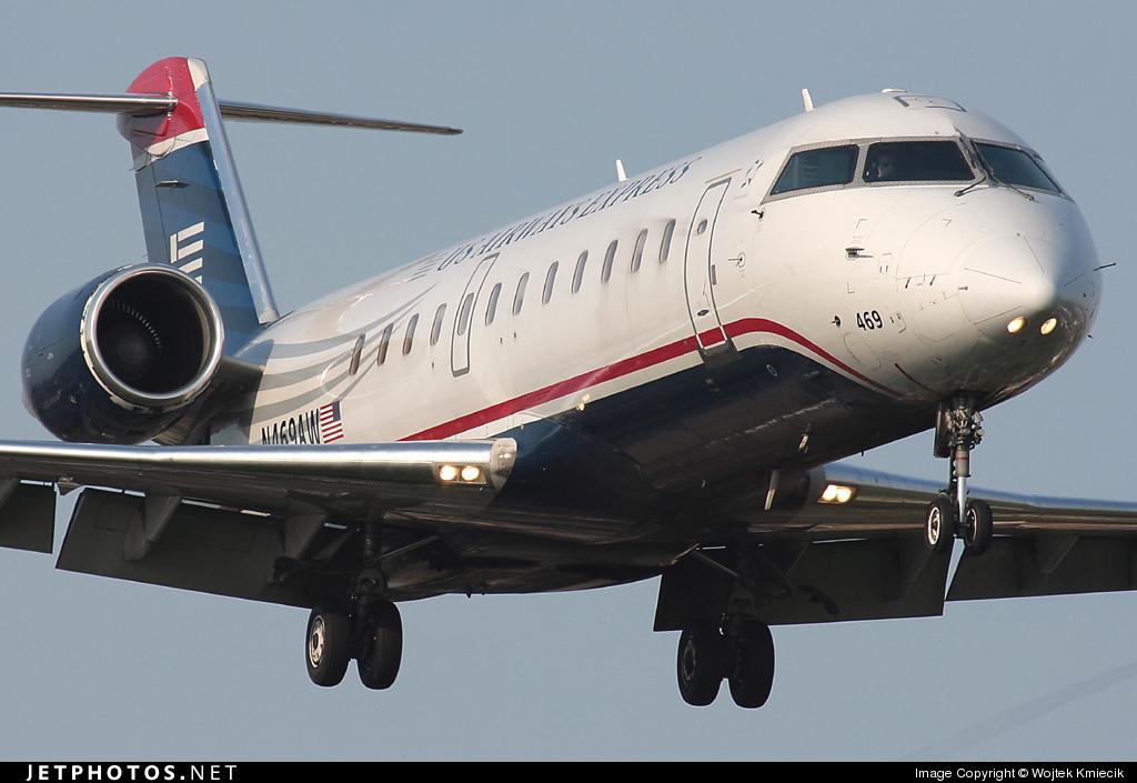 N469AW - Bombardier CRJ-200ER - US Airways Express (Air Wisconsin)