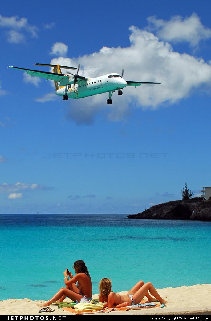 V2-LGD - Bombardier Dash 8-311 - Leeward Islands Air Transport (LIAT)