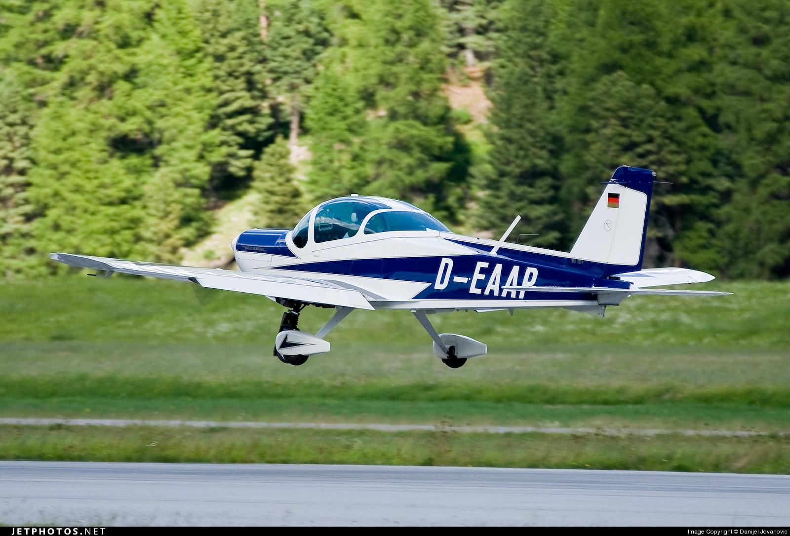 D-EAAP - Bolkow Bo.209 Monsun 150RV - Private