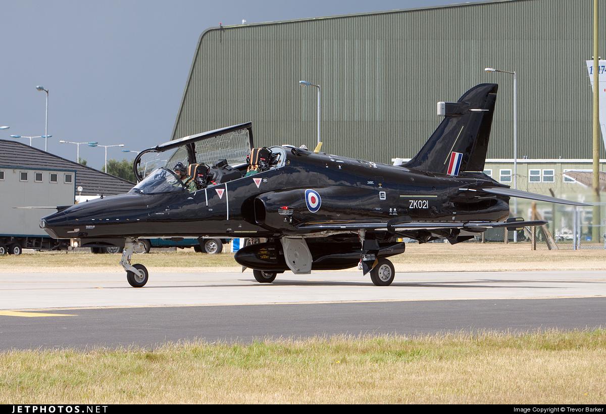 ZK021 - British Aerospace Hawk T.2 - United Kingdom - Royal Air Force (RAF)