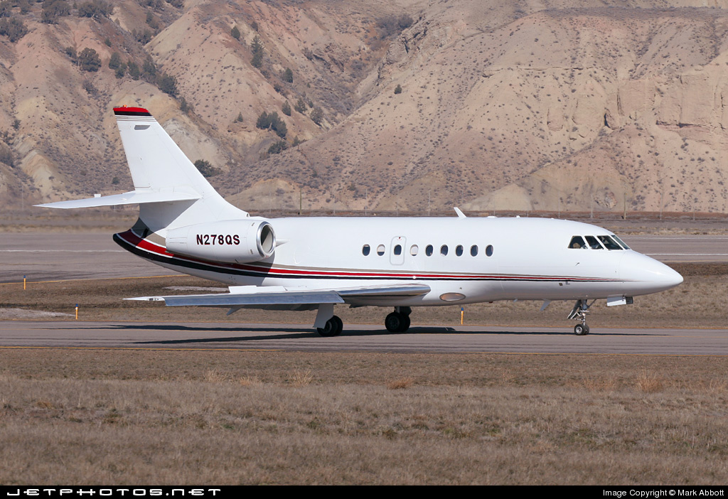 N278QS - Dassault Falcon 2000EX - NetJets Aviation