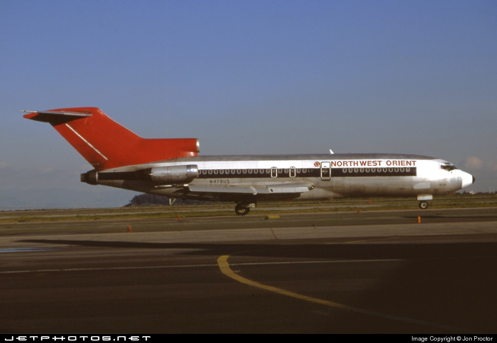 N479US - Boeing 727-51 - Northwest Orient Airlines