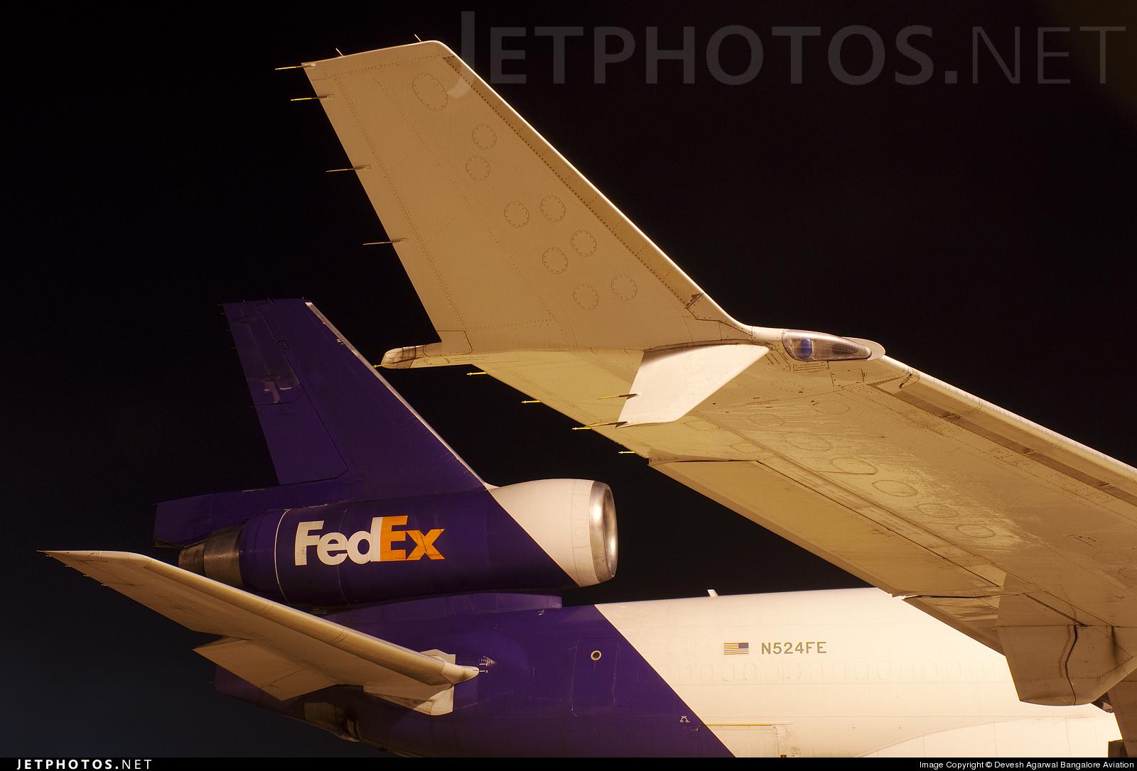 N524FE - McDonnell Douglas MD-11(F) - FedEx