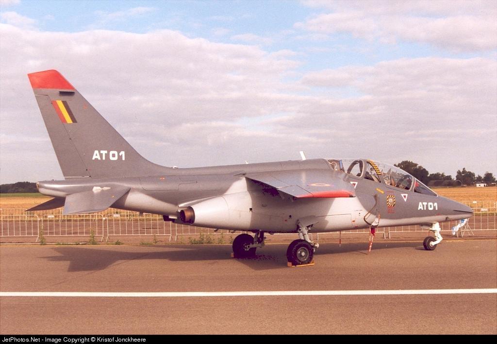 AT-01 - Dassault-Dornier Alpha Jet 1B+ - Belgium - Air Force