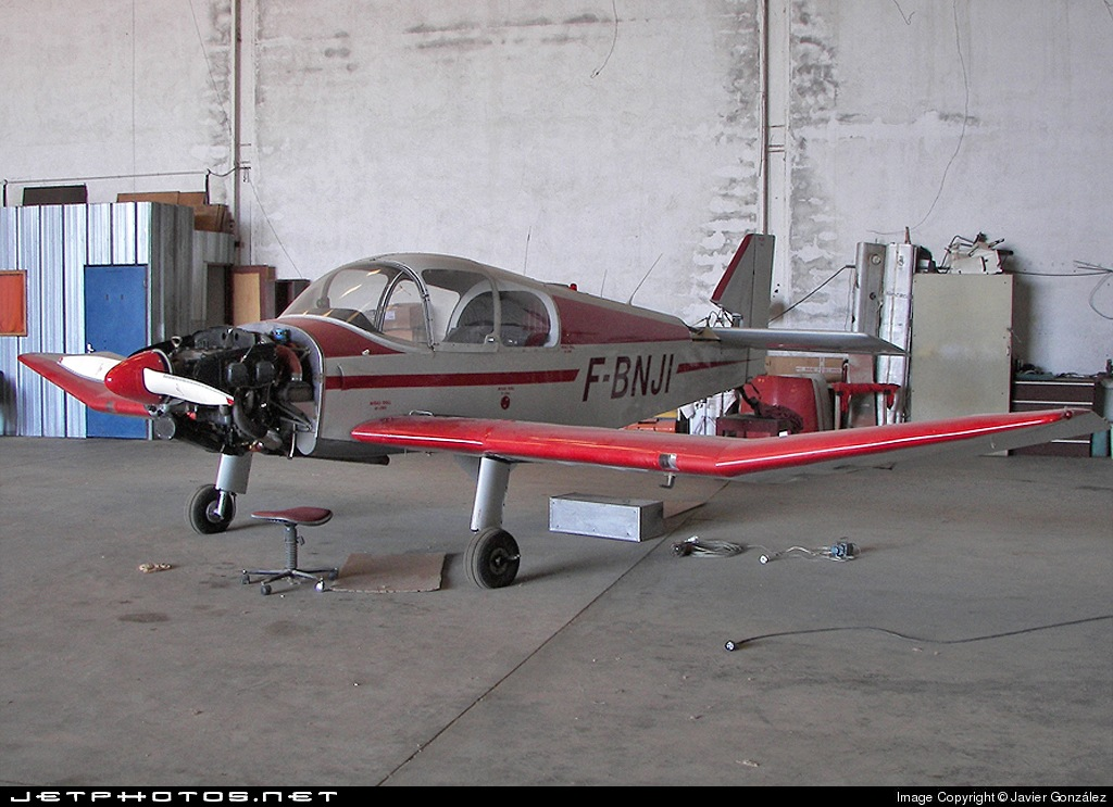 F-BNJI - Jodel DR250/160 Capitaine - Private