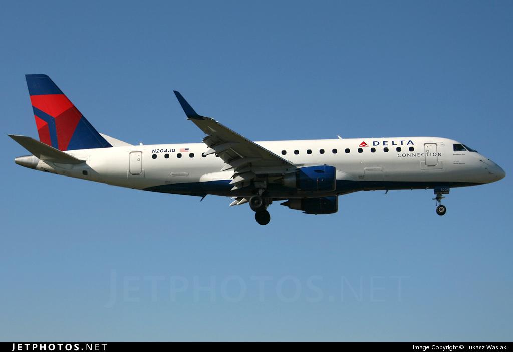 N204JQ - Embraer 170-200LR - Delta Connection (Shuttle America)
