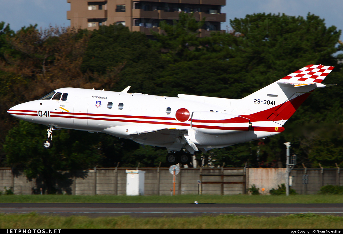 29-3041 | Raytheon Hawker U-125 | Japan - Air Self Defence ...