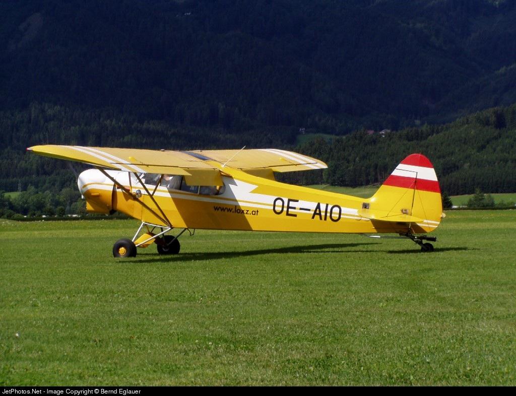 OE-AIO - Piper PA-18-180 Super Cub - Private