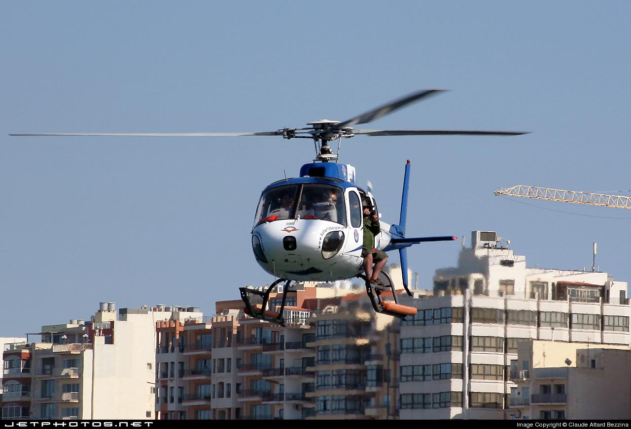 I-GLOP - Aérospatiale AS 350BA Ecureuil - Air Panarea