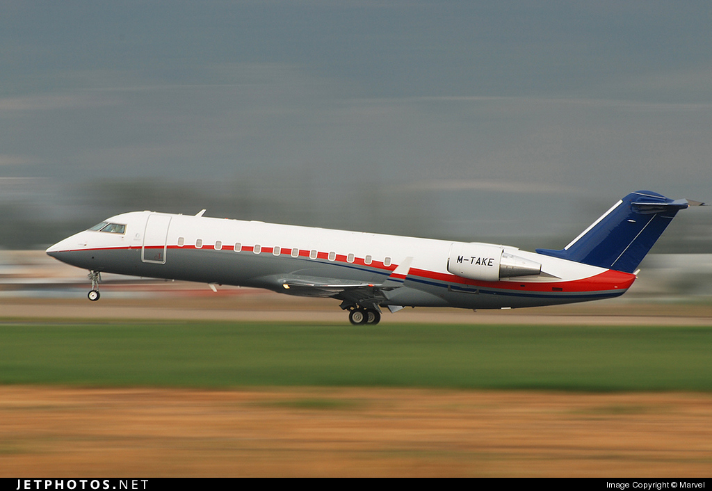 M-TAKE - Bombardier CL-600-2B19 Challenger 850 - Private
