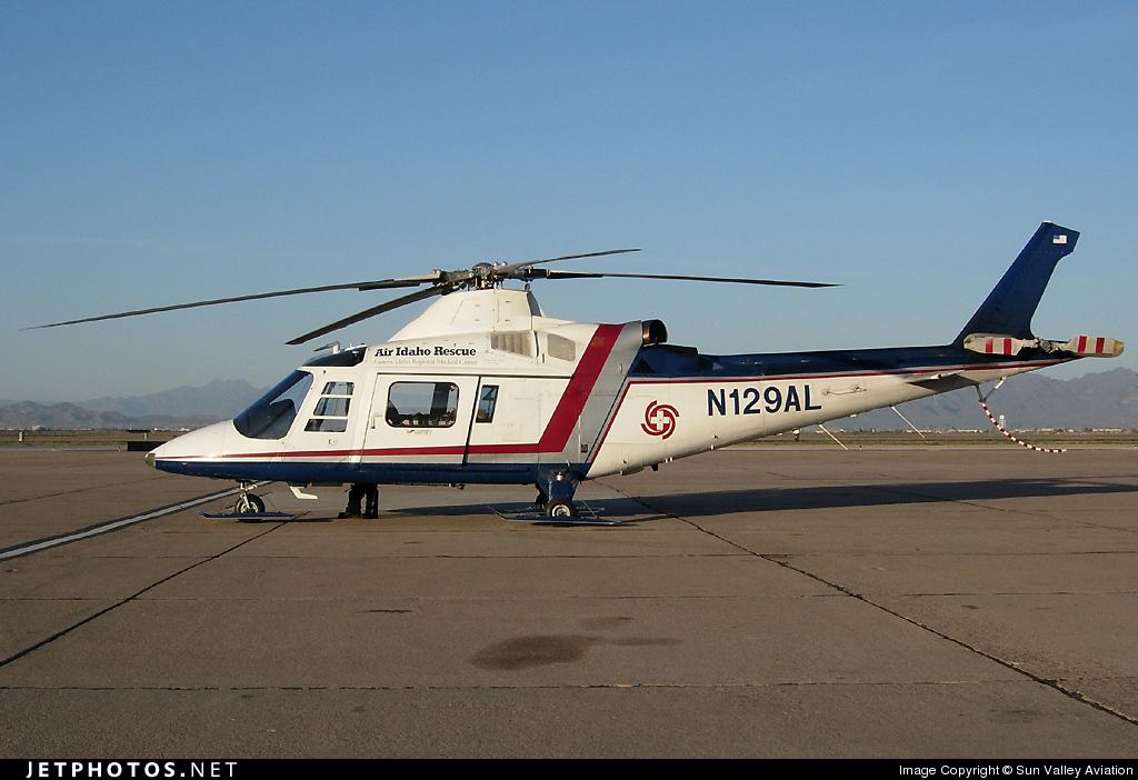N129AL - Agusta A109K2 - Air Idaho Rescue
