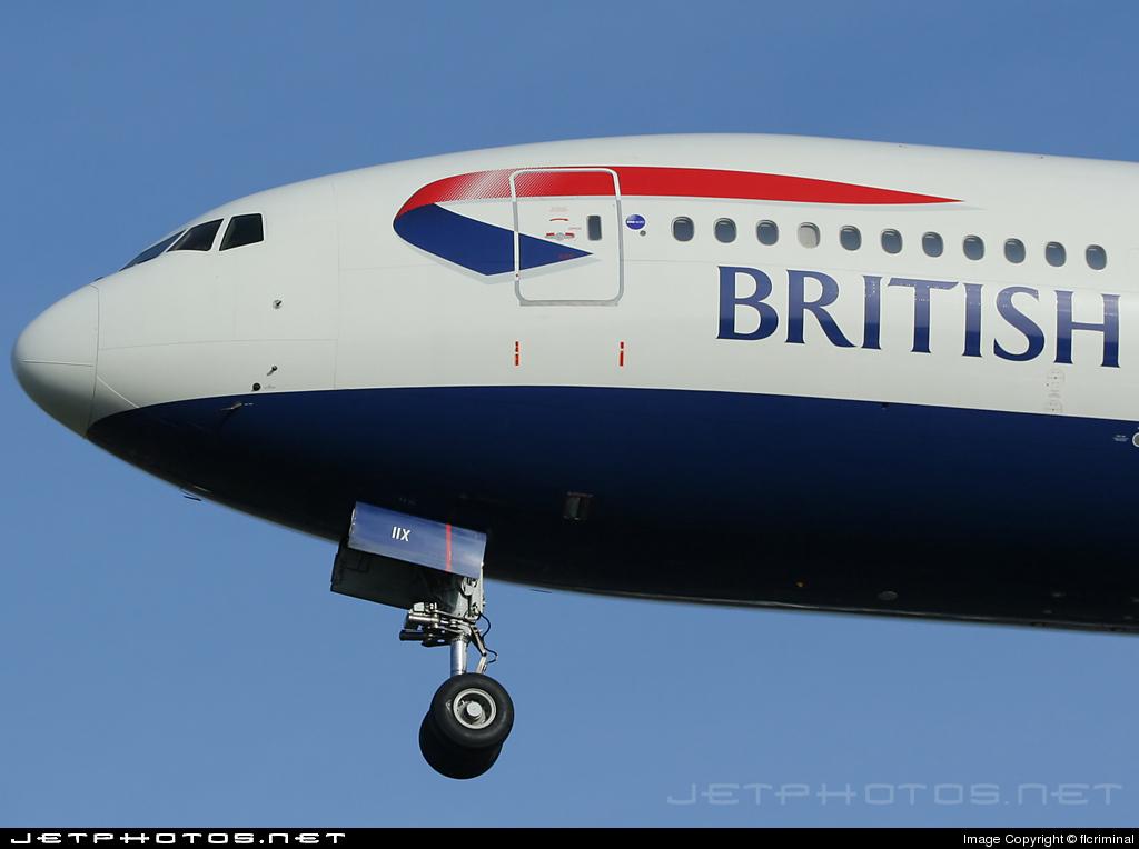 G-VIIX - Boeing 777-236(ER) - British Airways